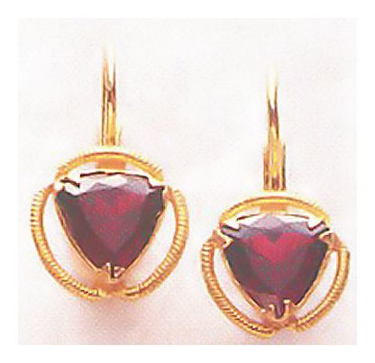 Darlington Garnet Earrings