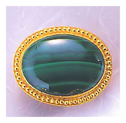 Manchester Malachite Pin