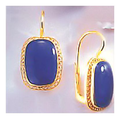 Chiltern Lapis Earrings