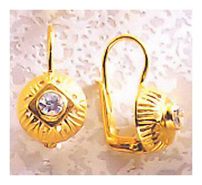 Lady Caroline Cubic Zirconia Earrings
