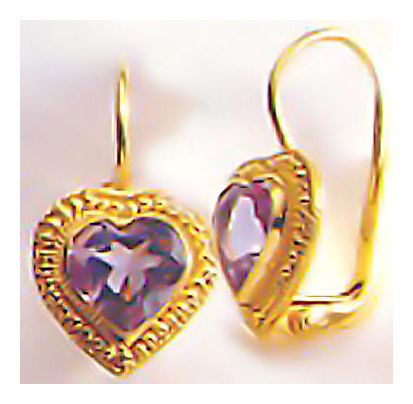 My Lady Amethyst Earrings
