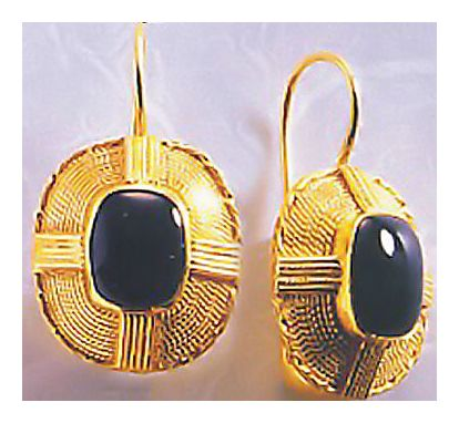 Locksley Hall Onyx Earrings