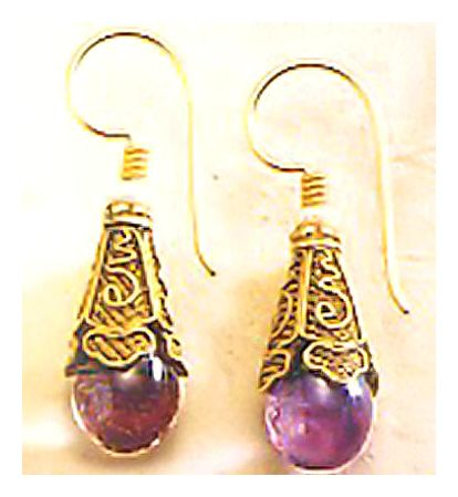 Yelena Amethyst Earrings