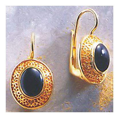 Kisi Onyx Earrings