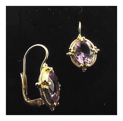 Aurelian Amethyst Earrings