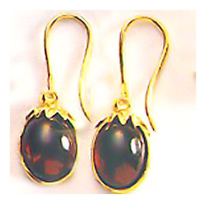 Wessex Garnet Earrings