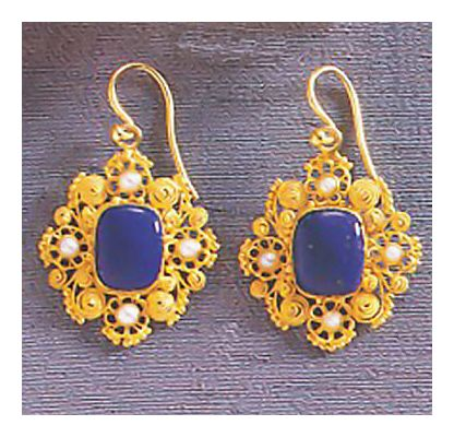 Marquessa Rockingham Earrings- Screw Backs