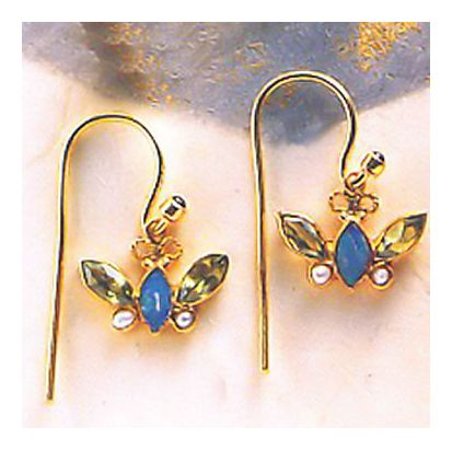 Jilin Butterfly Earrings