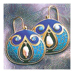 Mediterranean Earrings-Screw Backs