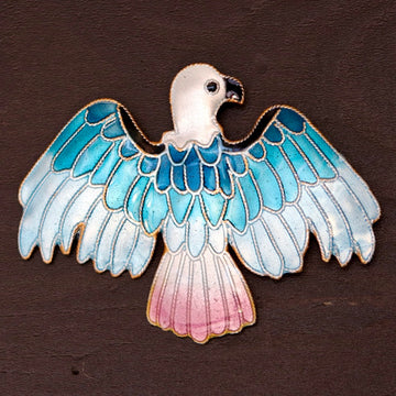Soaring Eagle Brooch