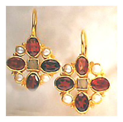 14k Guinevere Earrings