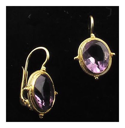 Ashford Amethyst Earrings