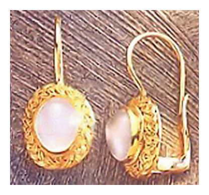 Covent Garden Moonstone Earrings