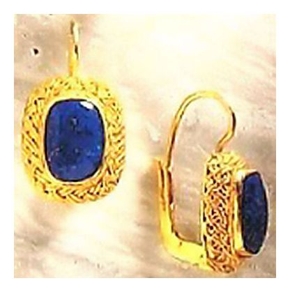 Cotswold Lapis Earrings
