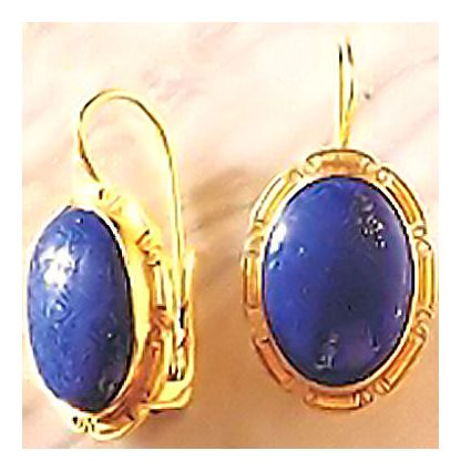 St. Albans Lapis Earrings