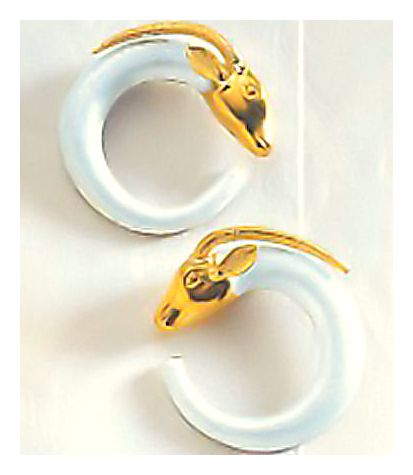 Homeric Antelope Earrings