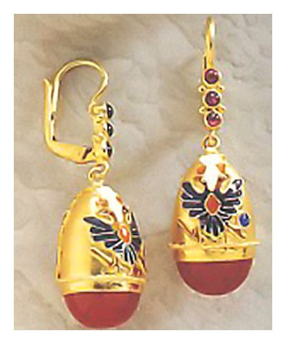 S.B. Countess Petrovna Carnelian Earrings