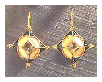 Vespucci Citrine Earrings