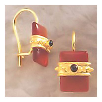 Royal Carnelian Earrings