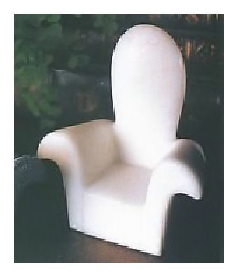 Marble Deco Chairs-White