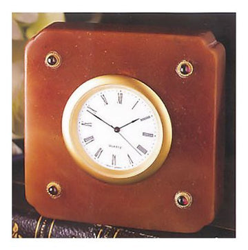 Agate Library Clock