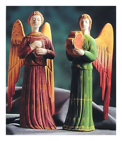Pair of Renaissance Angels