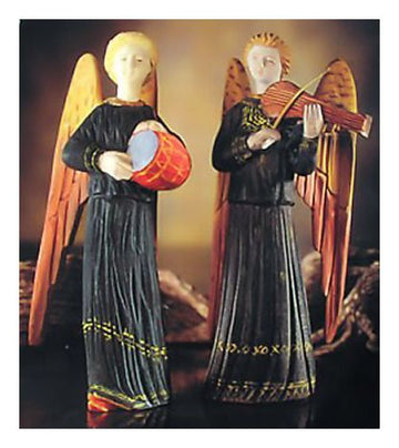 Pair of Angel Musicians