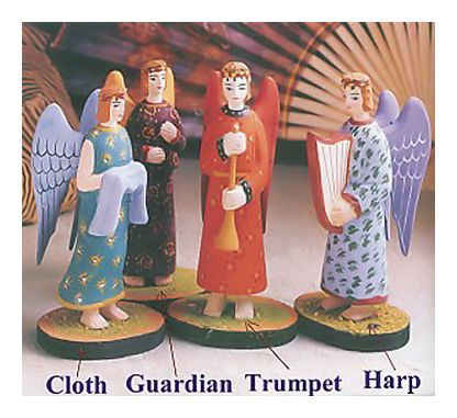 Heavenly Choir Angels Cloth
