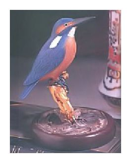 Handcarved Kingfisher
