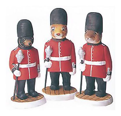 Buckingham Guards-3 Stand Animals
