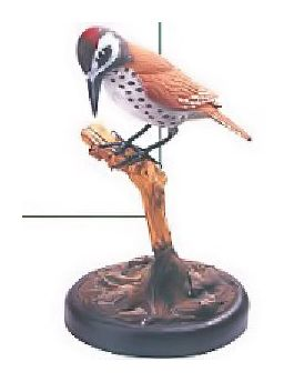 Handcarved Woodpecker