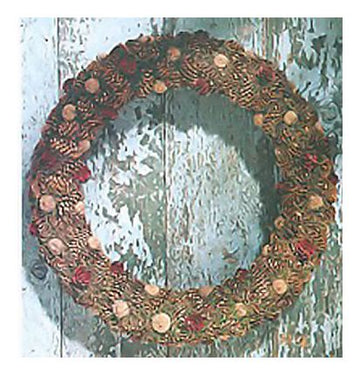 Pine Cone Holiday Wreaths