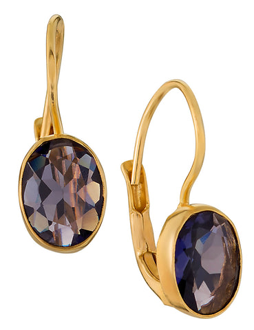 Downtown Diva Iolite Earrings