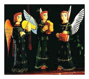 Set Of Angel Musicians