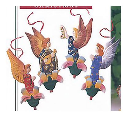 Angel & Flower Ornaments
