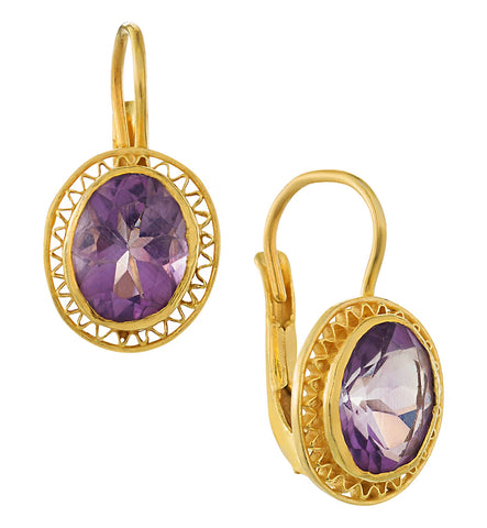 Amethyst Parlor Earrings