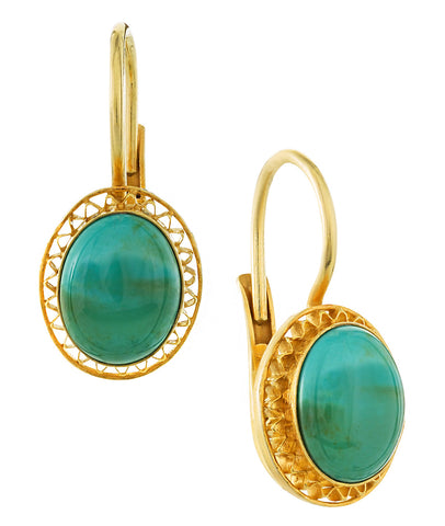 Turquoise Parlor Earrings