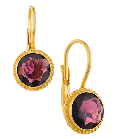 Caruso Garnet Earrings