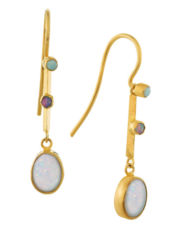 Victoriana Opal Earrings