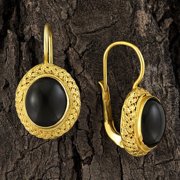 Avonlea Onyx Earrings