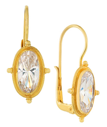 Lewis Carroll Cubic Zirconia Earrings
