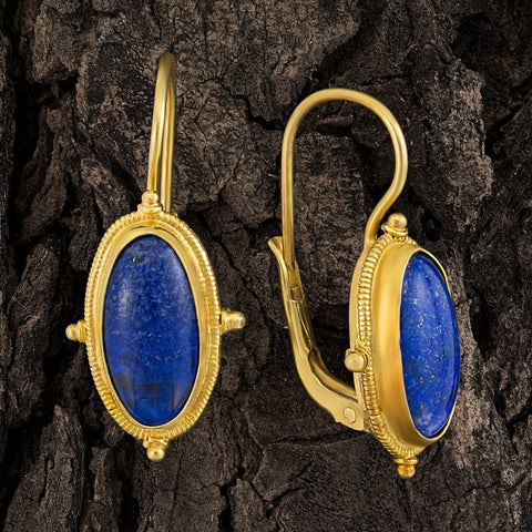 Lewis Carroll Lapis Earrings