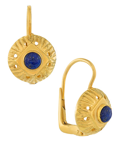 Lady Caroline Lapis Earrings