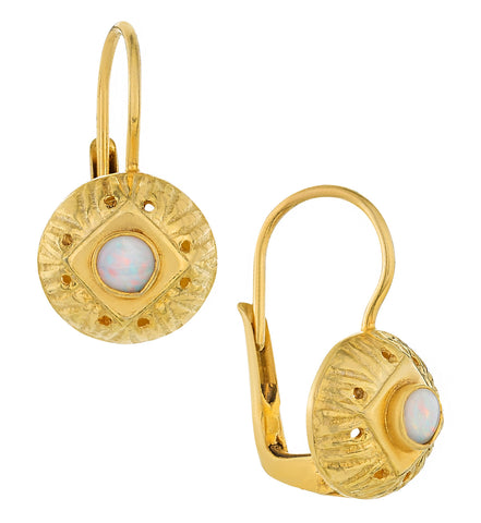 Lady Caroline Opal Earrings