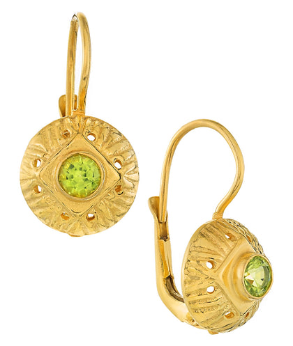 Lady Caroline Peridot Earrings