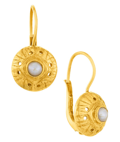 Lady Caroline Pearl Earrings
