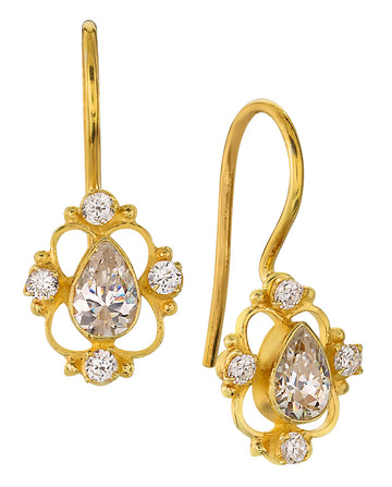 Daphne Dearheart Cubic Zirconia Earrings