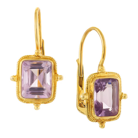 Olympian Amethyst Earrings