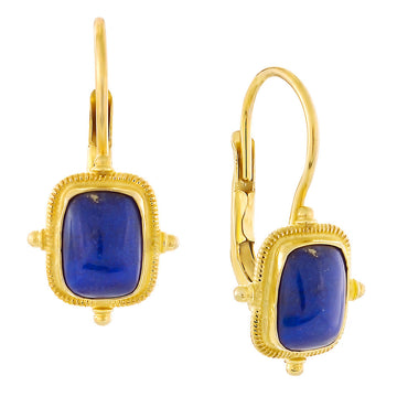 Olympian Lapis Earrings