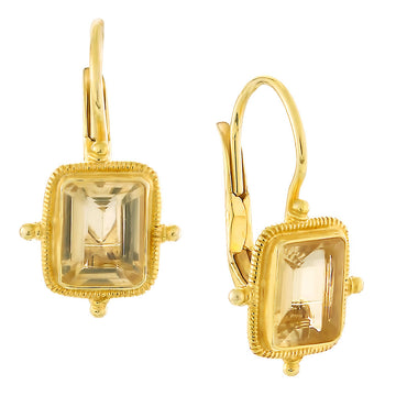 Olympian Citrine Earrings